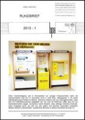 Rundbrief 01 2013 Arge Briefpostautomation